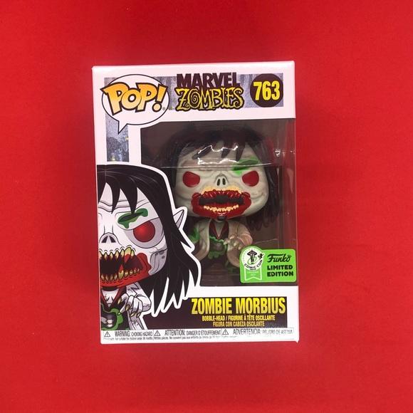 Funko Pop Marvel Zombie Morbius #763 ECCC OFFICIAL